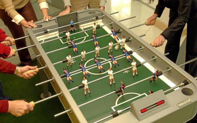 Futbolín es una palabra comúnmente utilizada, pero también se trata...