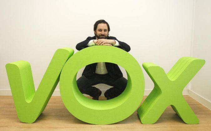 En la foto, Santiago Abascal, fundador de VOX.
