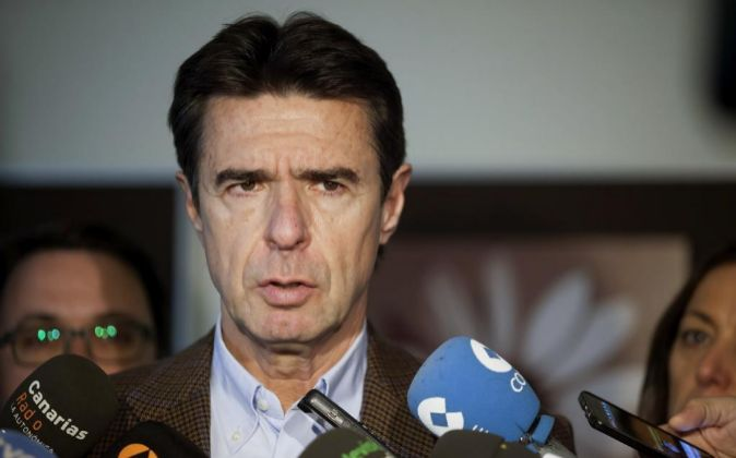 El presidente del PP de Canarias y ministro de Industria, Energía y...