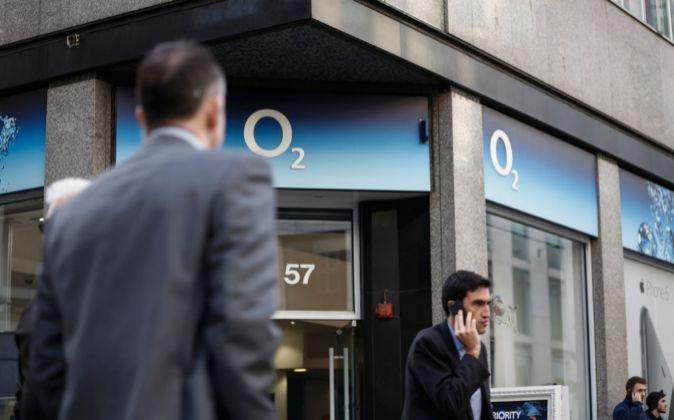 Oficina O2 en Londres.