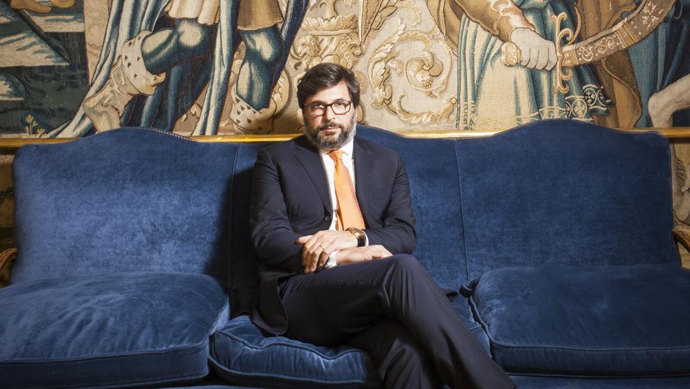 'IL CAPO' DE LOS RELOJES Guido Terreni, 46 años,...