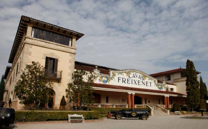 La sede del grupo Freixenet en Sant Sadurní d'Anoia (Barcelona).