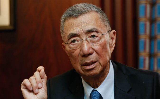 El Premio Nobel de Física Samuel Ting.