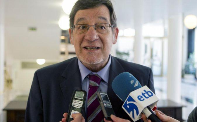 El presidente del Tribunal Superior de Justicia del País Vasco, Juan...