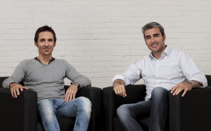 Lucas Carné y José Manuel Villanueva.