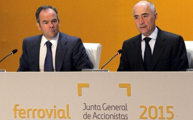 Junta General de Accionistas de Ferrovial.