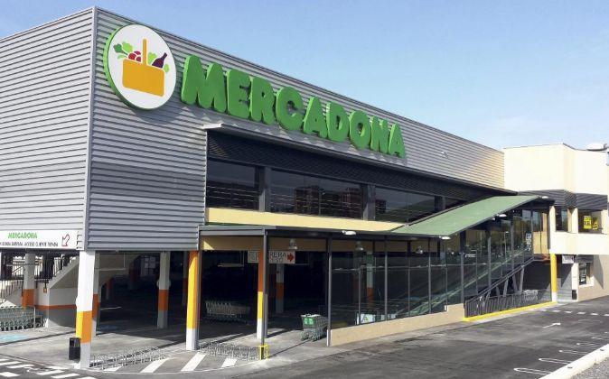 Supermercado de la cadena en Vitoria.