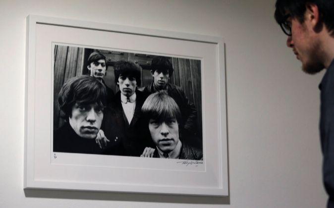 La exposición 'Breaking Stones' recoge 25 fotos que Terry...