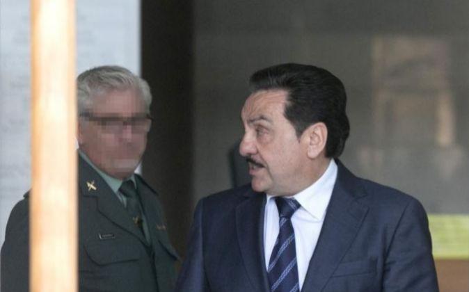 El exvicepresidente de la Diputación de Castellón, Francisco...