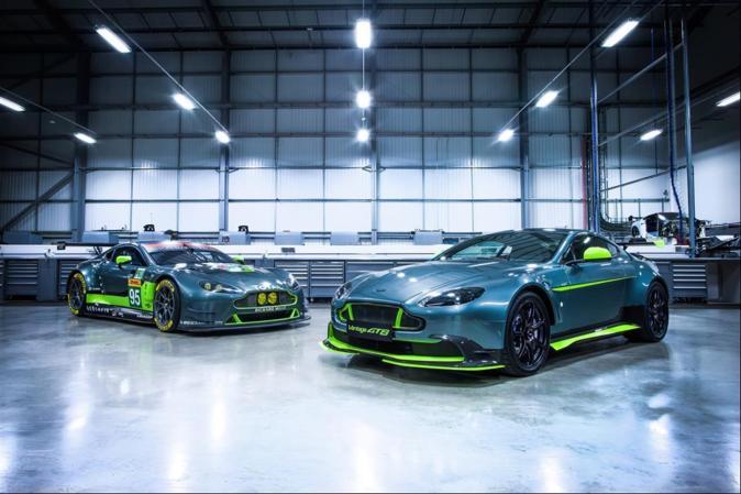 Aston Martin GTE y Aston Martin GT8.