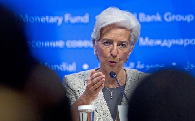 La directora del FMI Christine Lagarde.