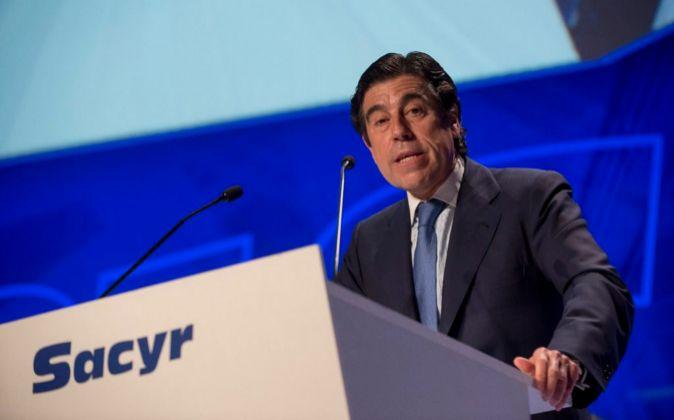 Manuel Manrique, presidente y consejero delegado de Sacyr