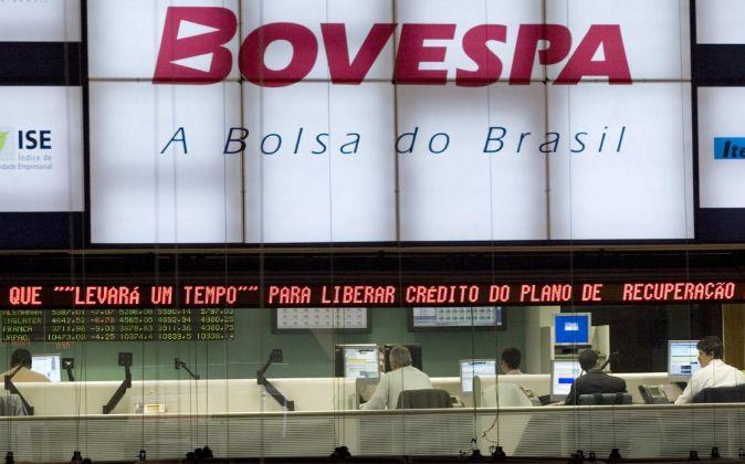 Imagen de archivo de la Bolsa de Sao Paulo