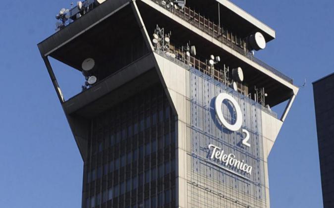 Sede de Telefónica O2 en Praga, República Checa.