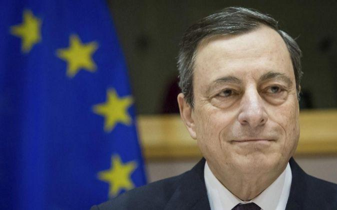 ¡El presidente del Banco Central Europeo (BCE), Mario Draghi.