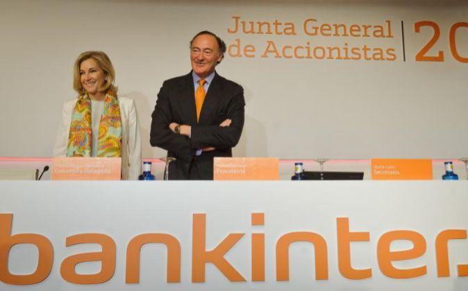 Pedro Guerrero y María Dolores Dancausa, presidente y consejera...