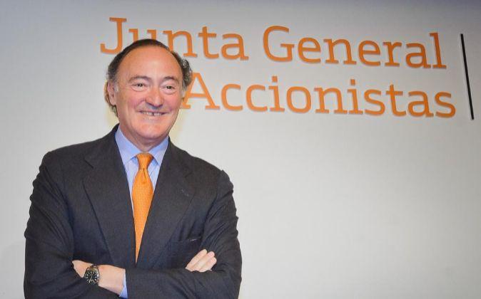 Presidente de Bankinter, Pedro Guerrero