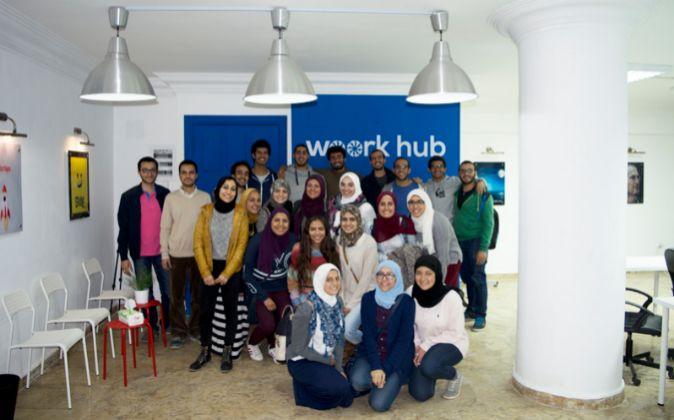 'Woork Hub' abrió sus puertas hace casi un año. Es el...