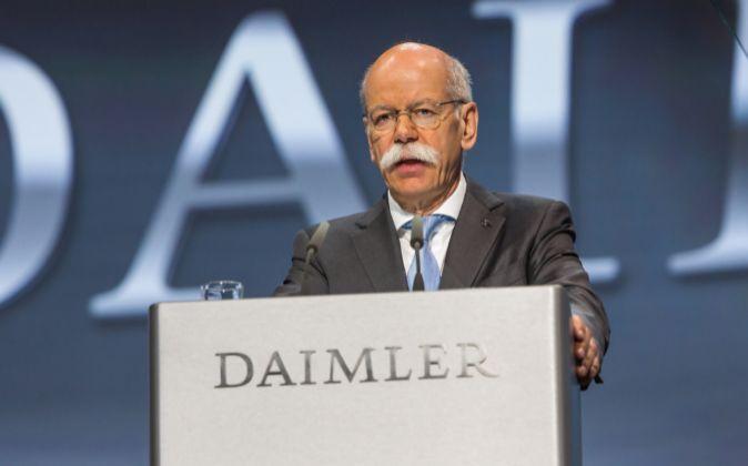 El consejero delegado de Daimler, Dieter Zetsche