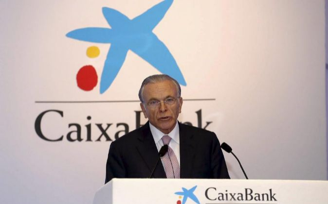 El presidente de Caixabank Isidro Fainé.
