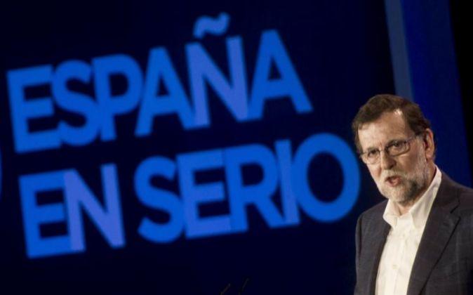 El presidente del PP y del Gobierno en funciones Mariano Rajoy.