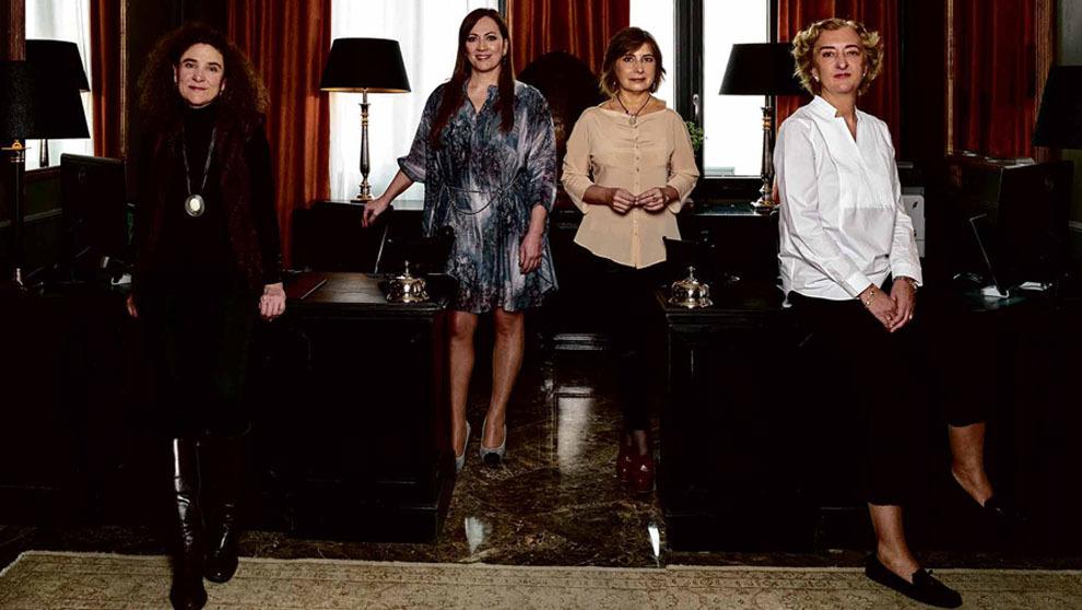 De izquierda a derecha, Clara Moreno Estaire, de Madrid & Beyond;...