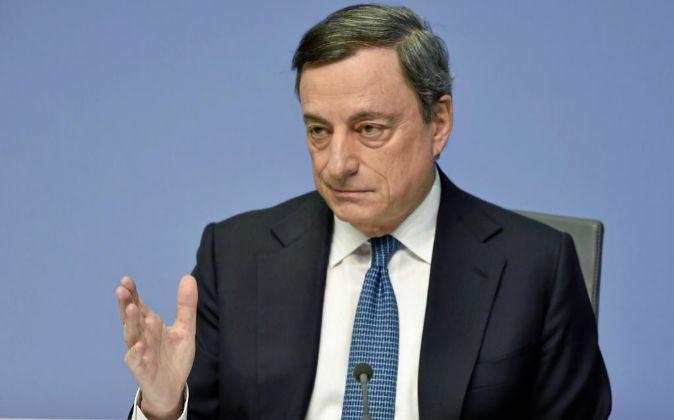 Mario Draghi, presidente del BCE.