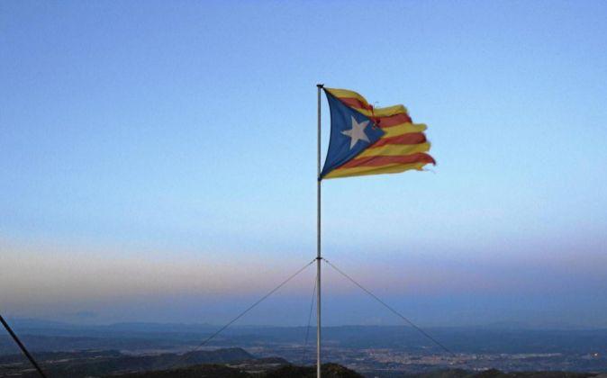 Bandera Independentista Catalana.