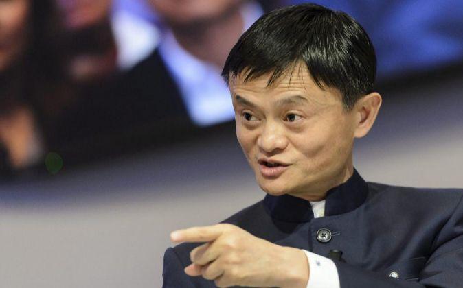 El presidente ejecutivo del grupo chino Alibaba, Jack Ma.