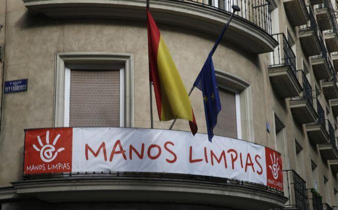 Sede del sindicato Manos Límpias.