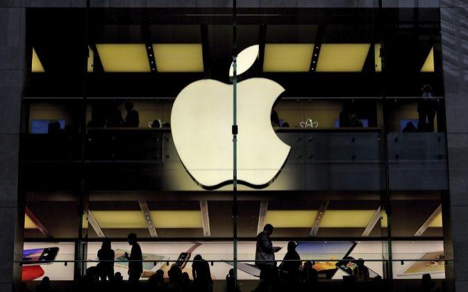 Imagen de una tienda de Apple en Sidney, Australia.