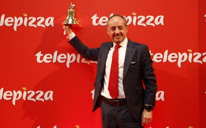 Pablo Juantegui, consejero delegado de Telepizza.