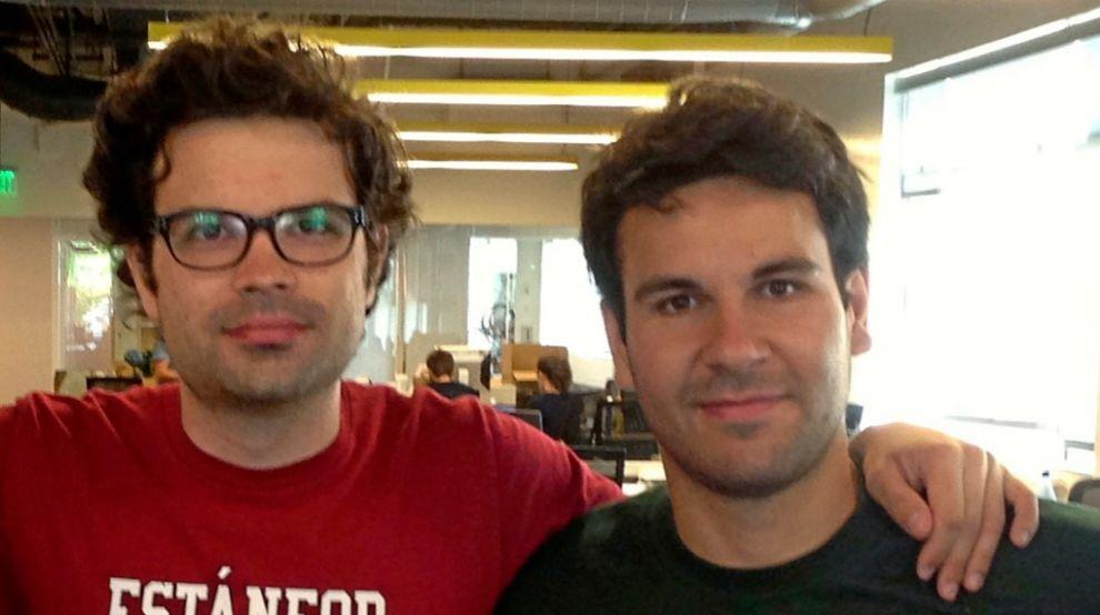 Javier Cambón y Manuel Noya, fundadores de Linknovate.