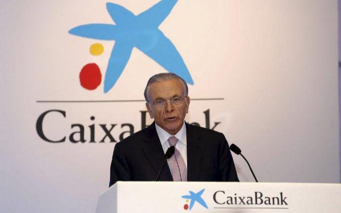 Isidro Fainé, presidente de CaixaBank.