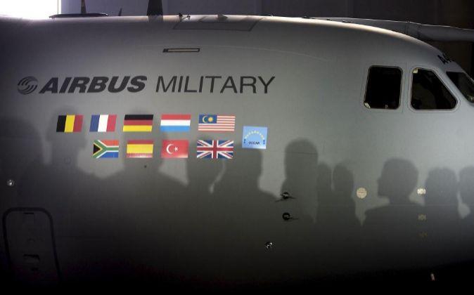 Imagen del avión de transporte militar de fabricación europea A400M