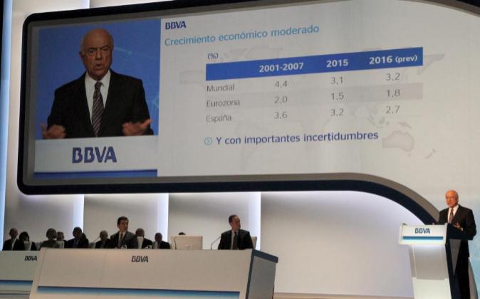 Junta General de Accionistas de BBVA.