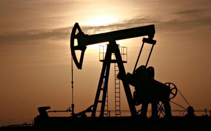 Extracción de petróleo.