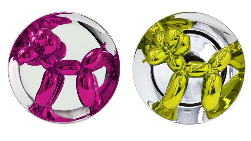 'Balloon Dog'. Jeff Koons, 2016. Porcelana. 26,7 x 26,7 x...