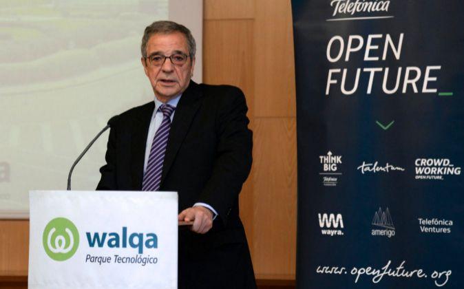 El expresidente de Telefónica, César Alierta