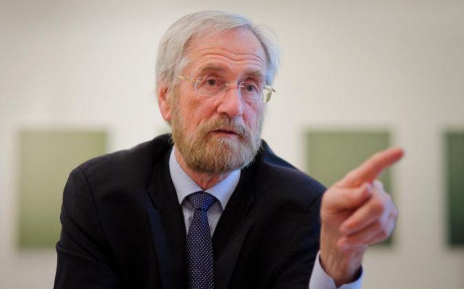 El belga Peter Praet, economista jefe del BCE.