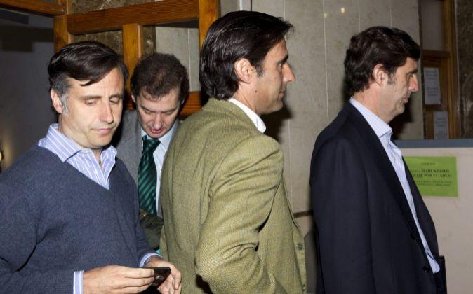 José María, Pablo y Zoilo Ruiz-Mateos
