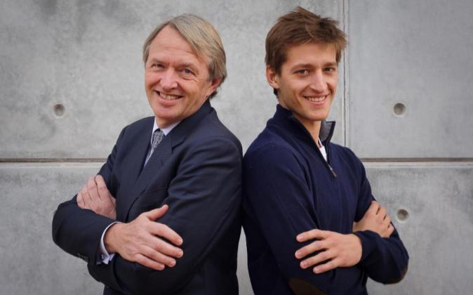 Oscar Pierre y su hijo, el emprendedor Oscar Pierre. Se dedican al...