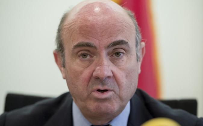 Luis de Guindos, ministro de Economía y Competitividad en funciones.