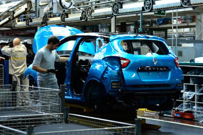 Fábrica de Renault, Valladolid.