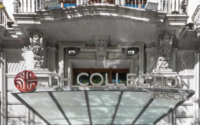El Hotel NH Collection Abascal de Madrid, de cuatro estrellas, cuenta...