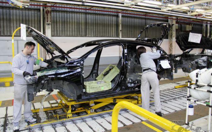 Fábrica de Renault en Palencia.
