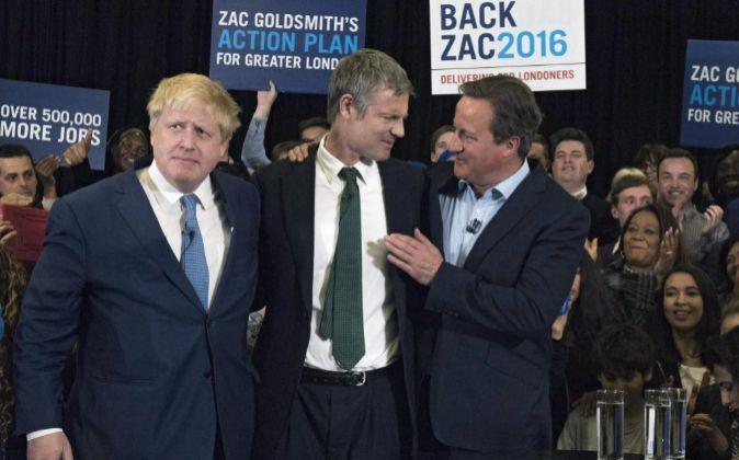 """El candidato """"tory"""" (conservador) a la alcaldía de Londres..."""