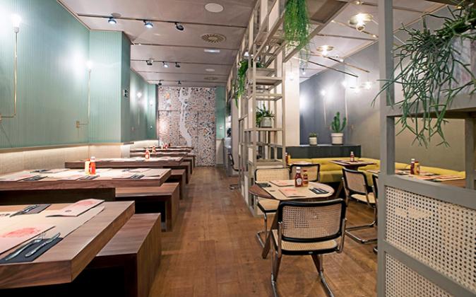 New York Burger cuenta con cuatro establecimientos. En la imagen, el...