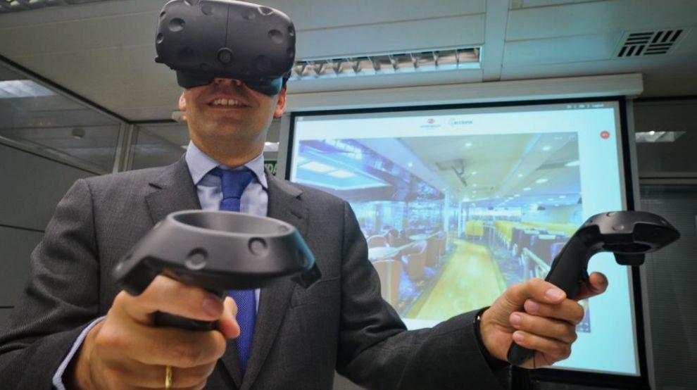 Nueva tecnología 3D en la sede de Acciona