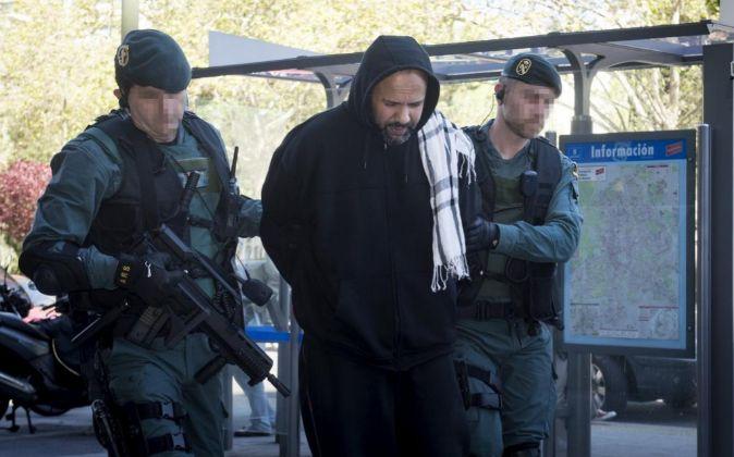 Uno de los cuatro detenidos en Madrid como presuntos integrantes de...